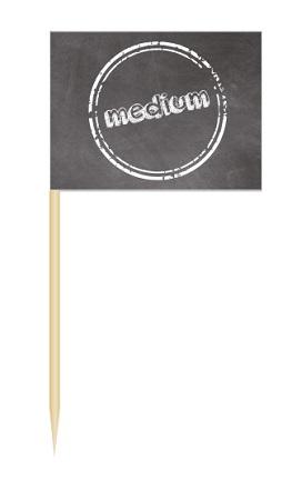 Werbeartikel: Minifahnen zur Speisenkennzeichnung=Minifähnchen medium