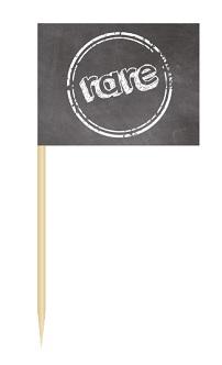 Werbeartikel: Minifahnen zur Speisenkennzeichnung=Minifähnchen rare