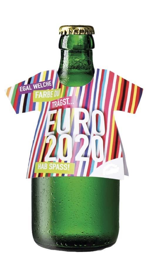 Werbeartikel: Pappe Flaschen T-Shirts
