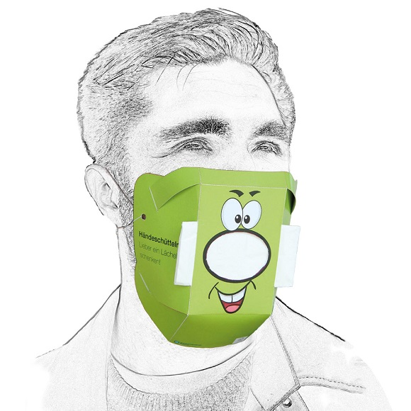 Werbeartikel: Behelfsmaske=Behelfsmaske