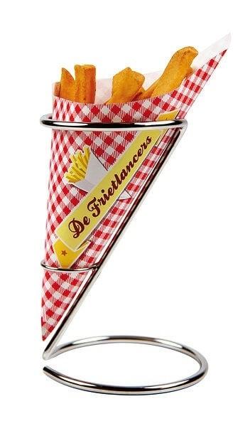Werbeartikel: Snacktüten | Spitztüten=Pommes tüten oder Pommes papier