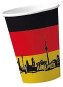 Werbeartikel: Deutschland Pappbecher,