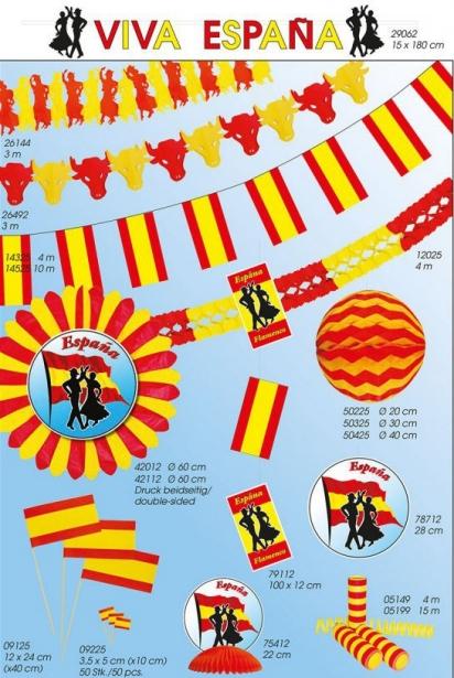 Werbeartikel: Themendekoration Spanien=Themendekoration Spanien,