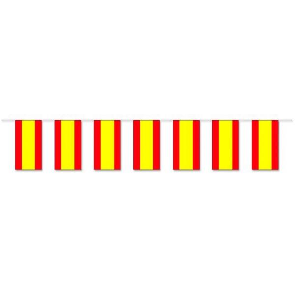 Werbeartikel: Themendekoration Spanien=Fahnenketten Spanien,