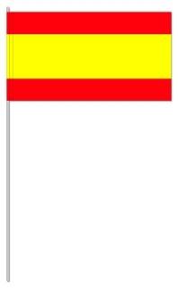 Werbeartikel: Themendekoration Spanien=Spanien Papierfahnen,