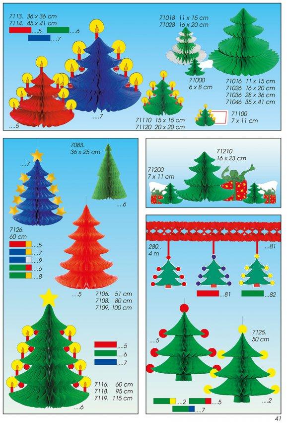 Werbeartikel: Weihnachten deko,=Dekotannen,