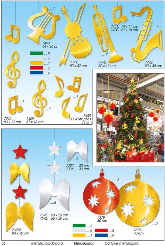 Werbeartikel: Weihnachten deko,=Papier weihnachts langen deko,