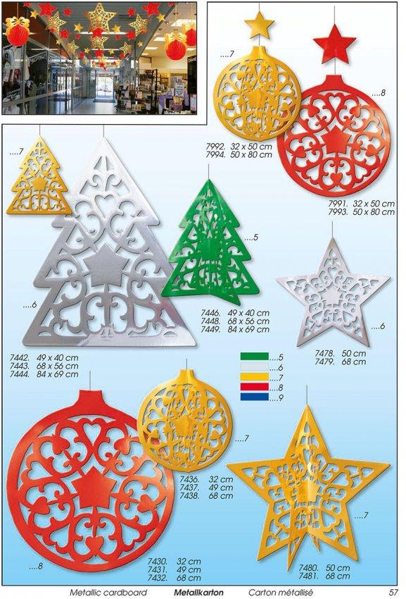 Werbeartikel: Weihnachten deko,=Sterndeko, Kugelndeko, Tanndeko,