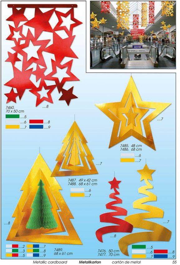 Werbeartikel: Weihnachten deko,=Stern deko, Tann deko,
