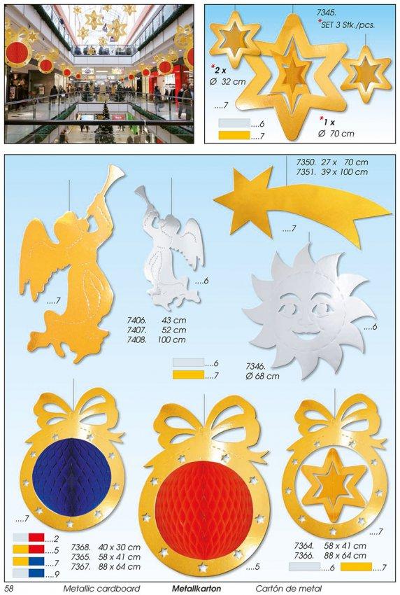 Werbeartikel: Weihnachten deko,=Weihnachten papier deko engel,