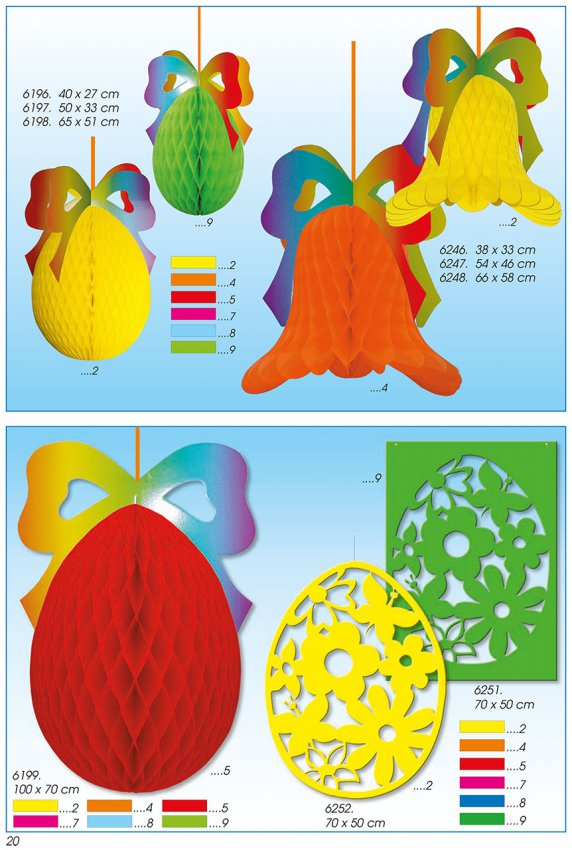 Werbeartikel: Papier Ostern Seidenpapier Artikel,