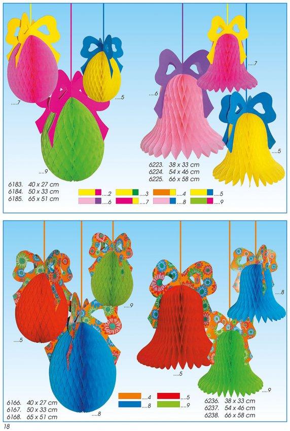 Werbeartikel: Oster-deko, Dekoartikel Ostern,=Papier Ostern-deko,