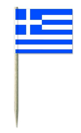 Werbeartikel: Europäische Union=Kostprobenpicker Griechenland,