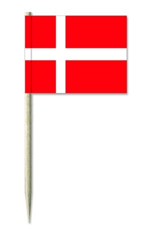 Werbeartikel: Europäische Union=Kostprobenpicker Dänemark,