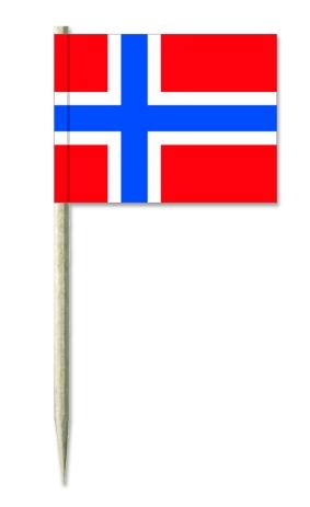 Werbeartikel: Staaten International,=Kostprobenpicker Norwegen,