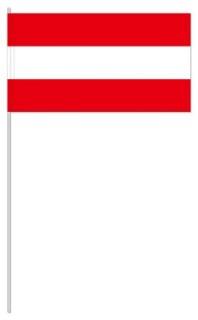 Werbeartikel: Euro Papierfahnen,=Österreich Papierfahnen,