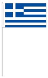 Werbeartikel: Euro Papierfahnen,=Papierfahnen Griechenland,