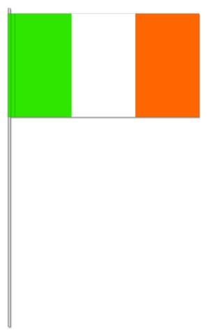Werbeartikel: Euro Papierfahnen,=Irland Papierfahnen,