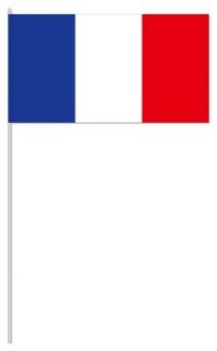 Werbeartikel: Euro Papierfahnen,=Papierfahnen Frankreich