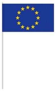 Werbeartikel: Euro Papierfahnen,=Euro Papierfahnen,