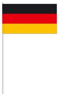 Werbeartikel: Euro Papierfahnen,=Papierfahnen Deutschland