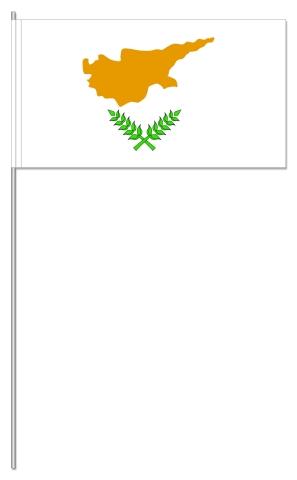 Werbeartikel: Euro Papierfahnen,=Zypern Papierfahnen,