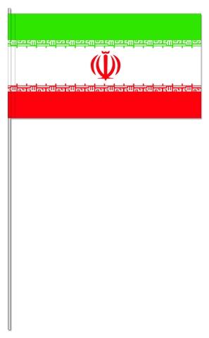 Werbeartikel: Iran Papierfahnen,