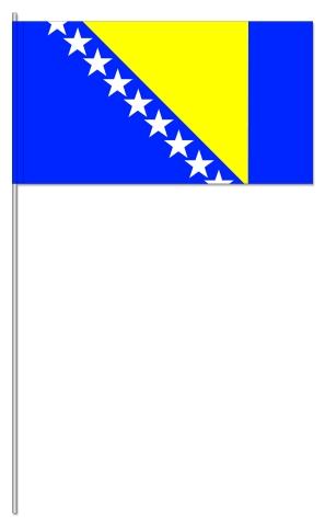 Werbeartikel: Bosnien-Herzegowina Papierfahnen,