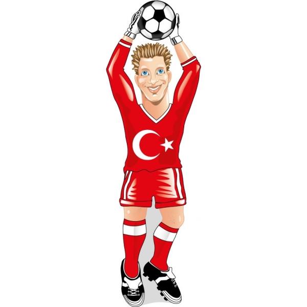 Werbeartikel: Türkei Torwart Heckscheibenwischer