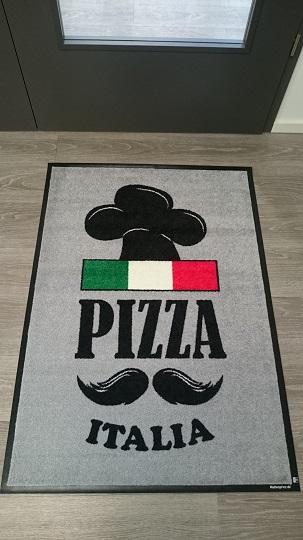Werbeartikel: Fußmatte Pizza