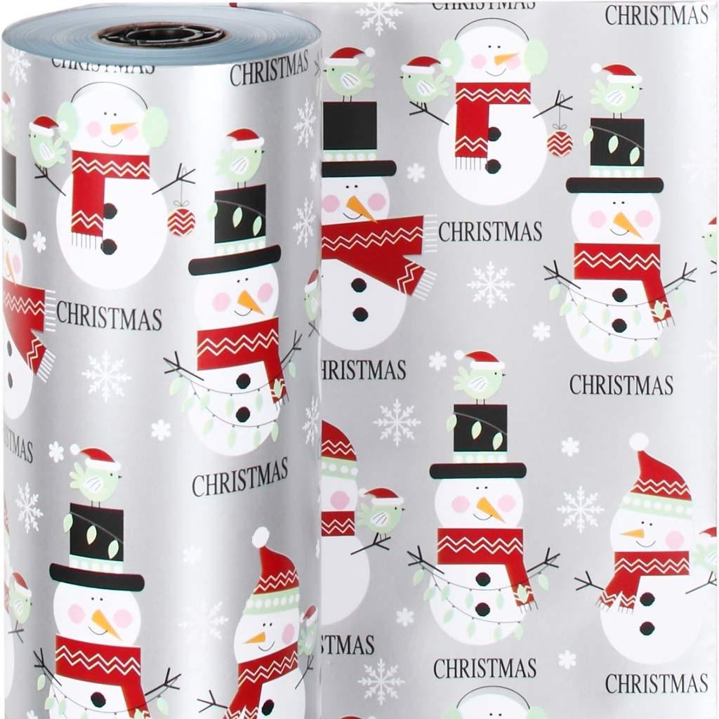 Werbeartikel: Geschenkpapier Schneemänner,