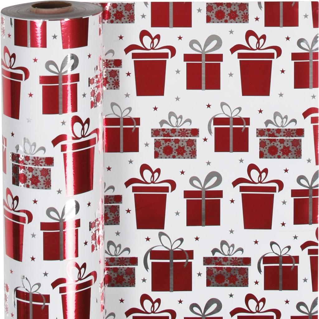 Werbeartikel: Geschenk-papier Weihnachts-päckchen,