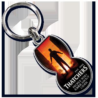 Werbeartikel: Metall-Schlüsselanhänger=Metall-Schlüsselanhänger  Einkaufswagenchip Bizkaia,