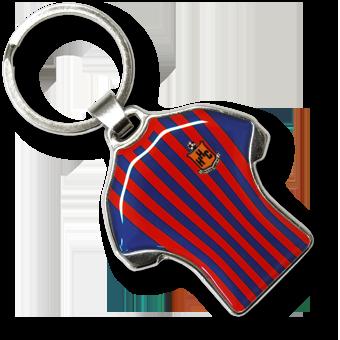Werbeartikel: Metall-Schlüsselanhänger=Schlüsselanhänger Shirt-Metal