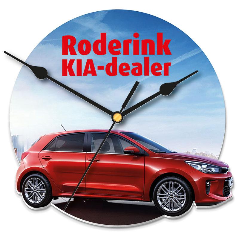 Werbeartikel: Wand Uhr=Wand-uhr autohaus