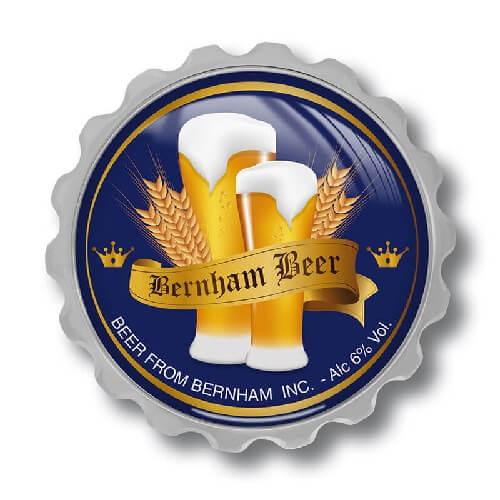 Werbeartikel: Brauerei Flaschenöffner