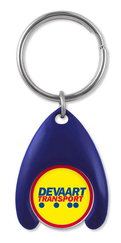 Werbeartikel: Einkaufswagen  schlüssel,=Kunststoff Schlüsselanhänger,