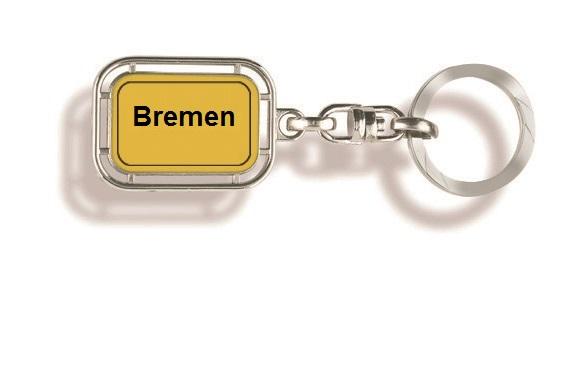 Werbeartikel: Orts Schlüsselanhänger=Bremen Schlüsselanhänger