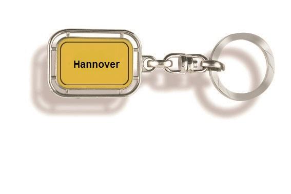 Werbeartikel: Orts Schlüsselanhänger=Hannover Schlüsselanhänger