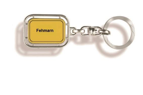 Werbeartikel: Fehmarn Schlüsselanhänger