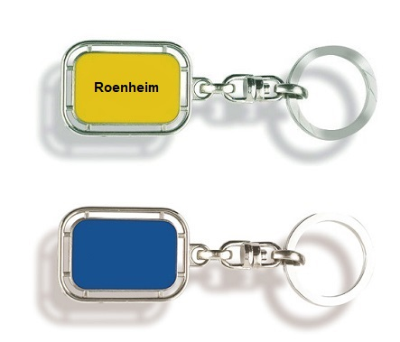Werbeartikel: Orts Schlüsselanhänger=Schlüsselanhänger Rosenheim