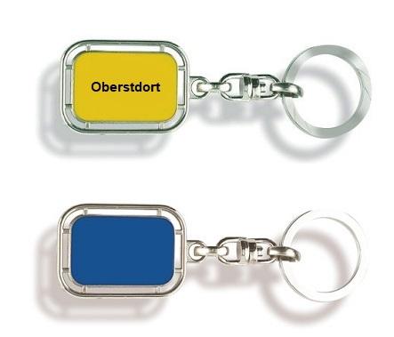 Werbeartikel: Orts Schlüsselanhänger=Schlüsselanhänger Oberstdorf