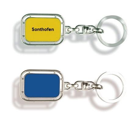 Werbeartikel: Orts Schlüsselanhänger=Schlüsselanhänger Sonthofen