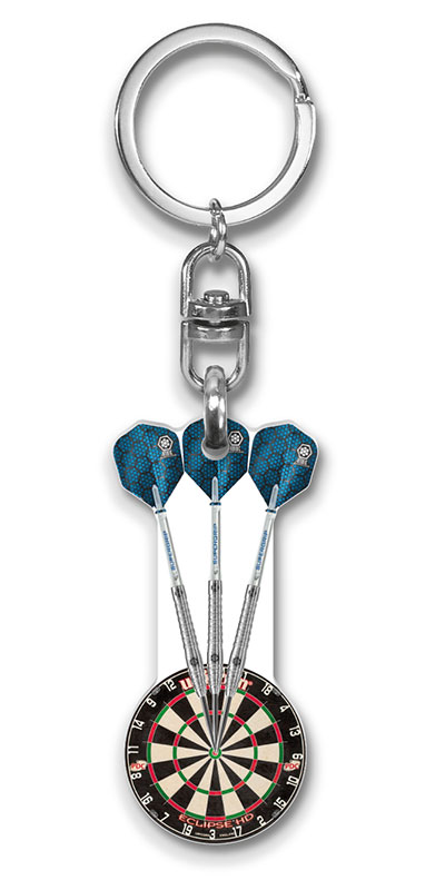 Werbeartikel: Sport Schlüsselanhänger=Darts Schlüsselanhänger,