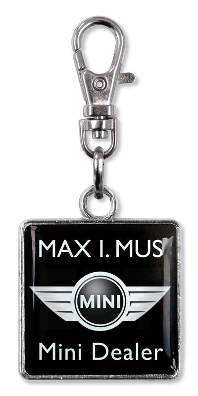 Werbeartikel: Werbe zipper anhänger=Zipper Puller De Luxe Maximus,