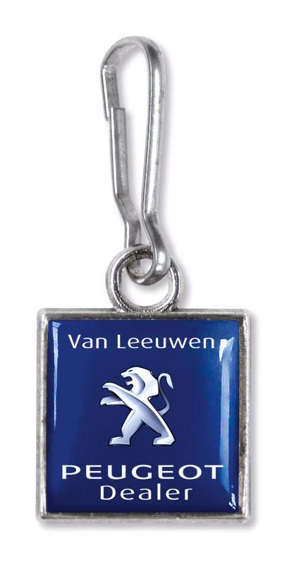 Werbeartikel: Werbe zipper anhänger=Zipper Puller Van Leeuwen,