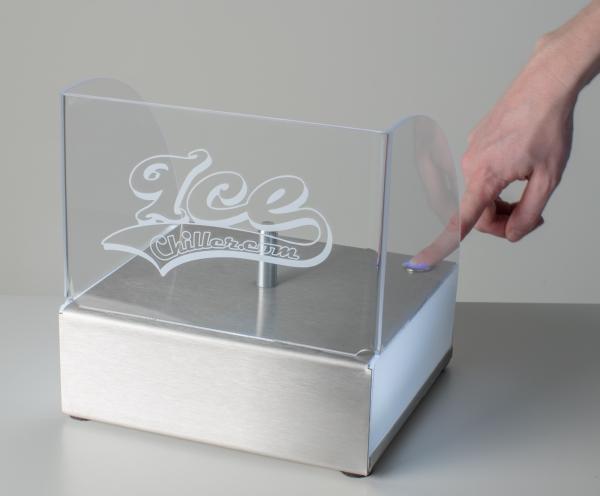 Werbeartikel: Ice Chiller=Ice Chiller Tischgerät gebürstet