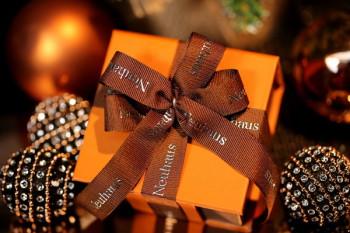 Werbeartikel: Schleifen-weihnachts Verpackung,