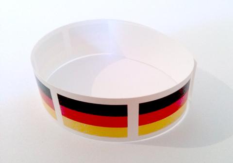 Werbeartikel: Themendekoration Deutschland=Deutschland Bänder