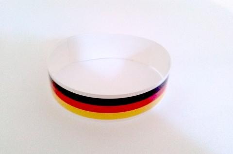 Werbeartikel: Themendekoration Deutschland=Sport bänder Deutschland,